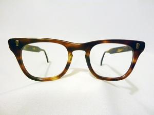 a9034271390 Marine Optical Vintage Men s Hybrid Eyeglass Frame in Demi Amber