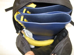 Inside the MEC Pika Plus Day pack:  Product Number: 4003-256