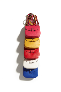 Mark's Denver Hayes Jaclyn Cross Body Bag in Surf Blue, Coral and Fuschia are must have's