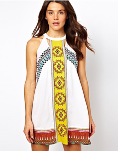 River Island Misha Mexican Dress from www.asos.com