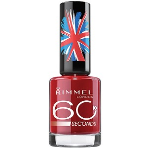 Rimmel London's 60 Seconds Nail Polish:  'Stand To Attention'