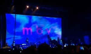 Monday November 11, 2013:  My Bloody Valentine at the Hammerstein Ballroom
