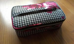 Small Train Case: $16.99  Comes in Patterns: Block, Houndstooth